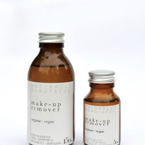 Product image of make-up remover, available in two different sizes