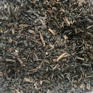 Image of a jar of Decaf tea in bulk, ready for your own containers