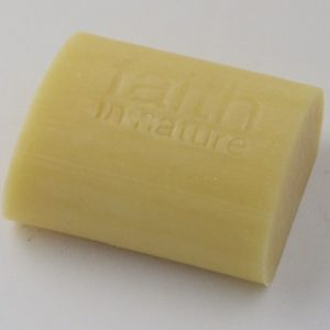 Image of a bar of faith in nature soap