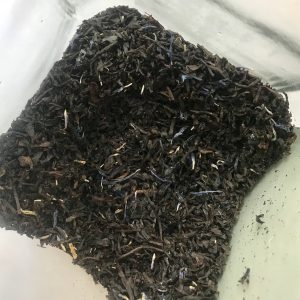 Image of a jar of Earl Grey tea in bulk, ready for your own containers