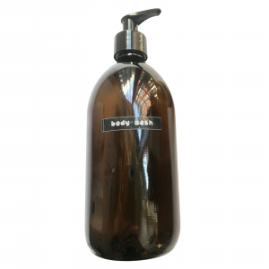 Product image for amber bottle 300ml