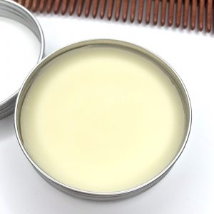 Product image of a tin of Nottingham-made By Bravery beard and hair conditioning wax