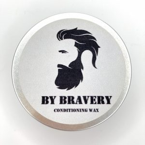 Product image of a tin of By Bravery beard and hair conditioning wax