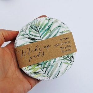 Product image for reusable, washable make-up pads by the Zero Waste Maker