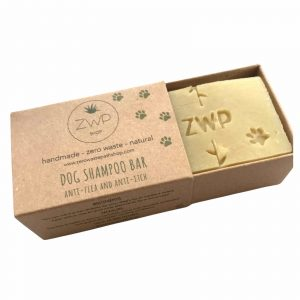 Product image for dog shampoo bar from zero waste path