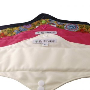 Product image for earthwise washable sanitary pad large