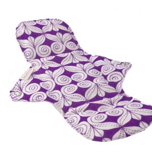 Product image eco femme day pad plus natural pattern