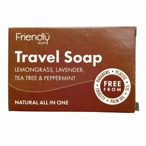 Product image for friendly travel soap bar