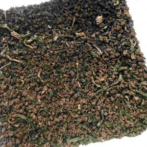 A close up of our loose leaf Yorkshire Everyday tea