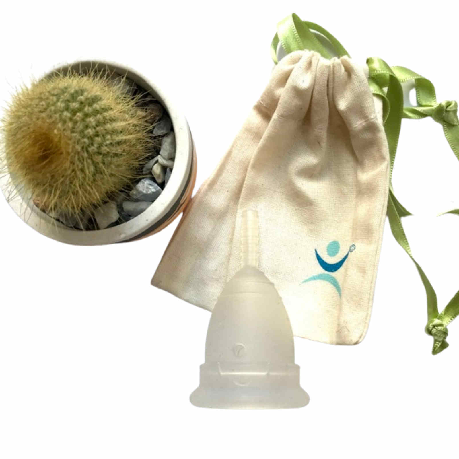 Product image for mooncup reusable menstrual cup with bag