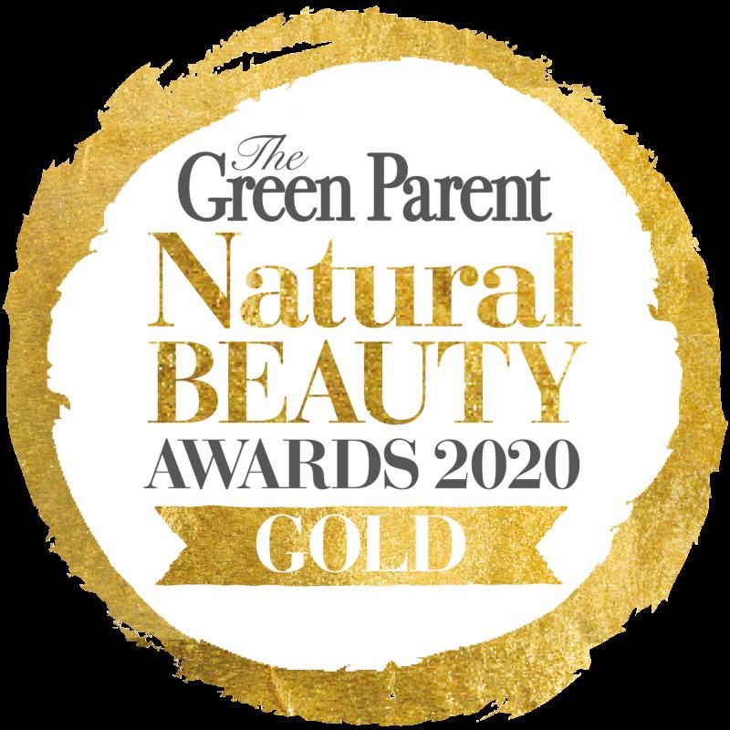 Image of logo for Green Parent Natural Beauty Award for Shade natural sunscreen