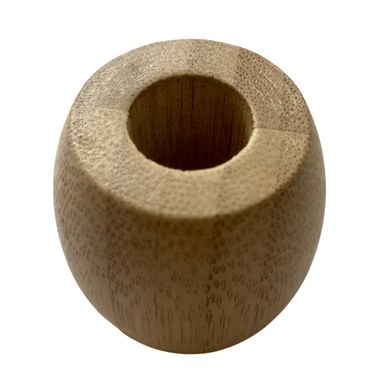 Product image for a toothbrush bamboo holder