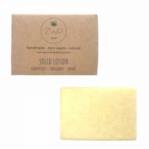 Product image of zero waste path solid lotion