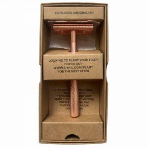 Product image for Zero Waste Club rose gold razor