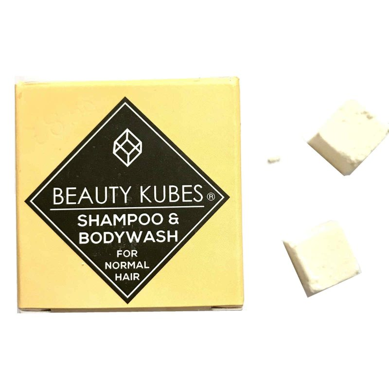 Product image for beauty kubes body wash and shampoo for normal hair