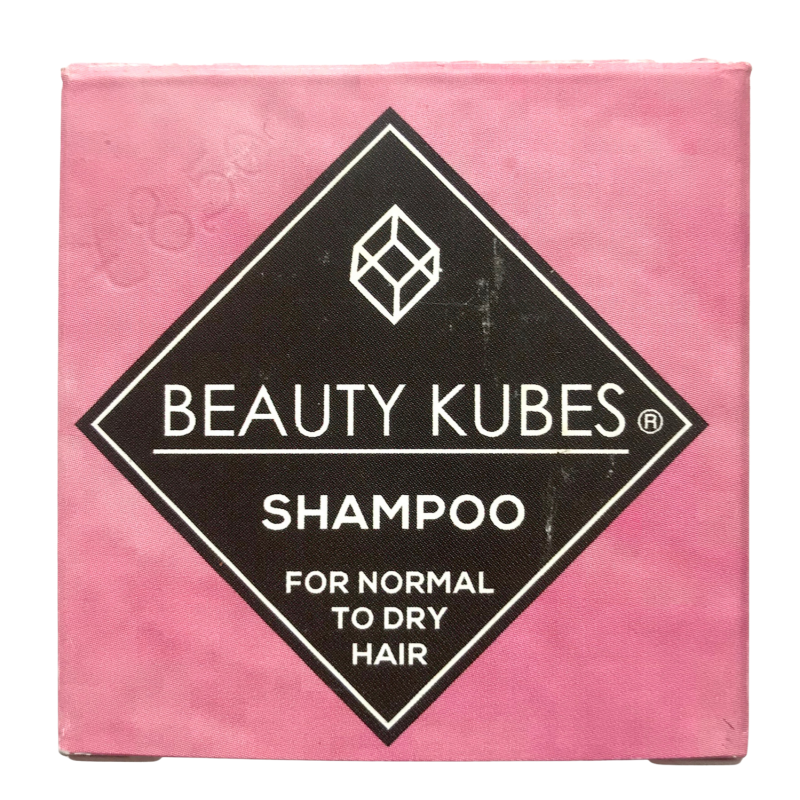 Product image for beauty kubes shampoo for normal to dry hair