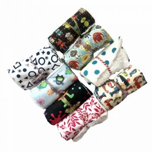 Product image for Handmade Rascals cotton, reusable hand wipes