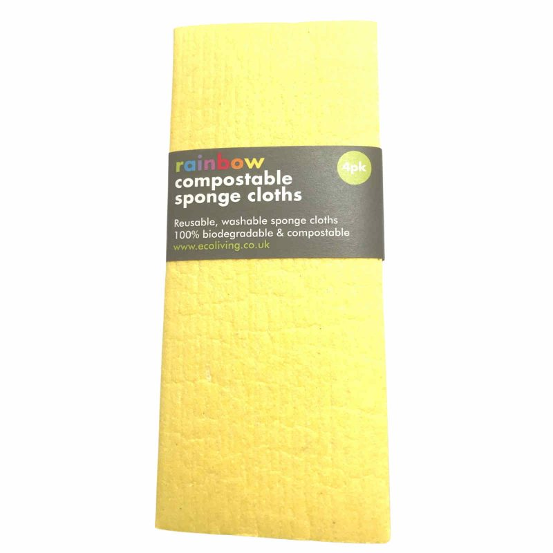 Product image for compostable cloths rainbow