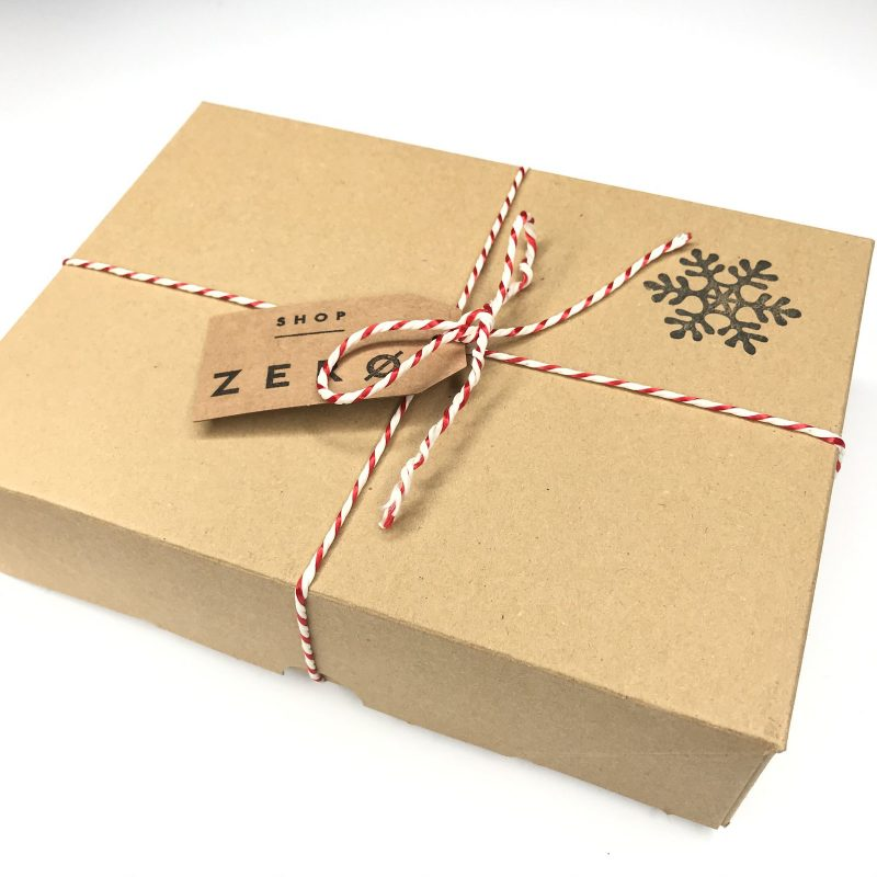Product image for zero waste gift kit wrapping by Shop Zero