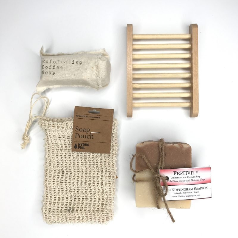 Product image for zero waste Soap Lover's gift collection