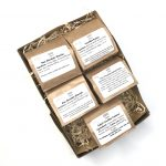 This is an image for raw chocolate vegan gift box