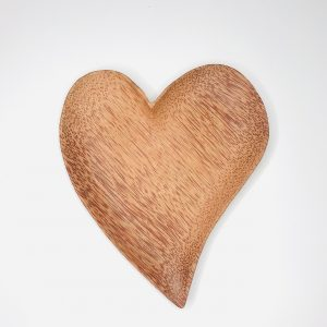 Product image waste coconut heart plate