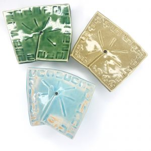 Product image for handmade ceramic soap dishes