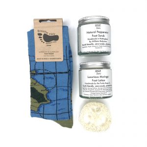 Product image for Happy Feet zero waste gift box - a treat for feet