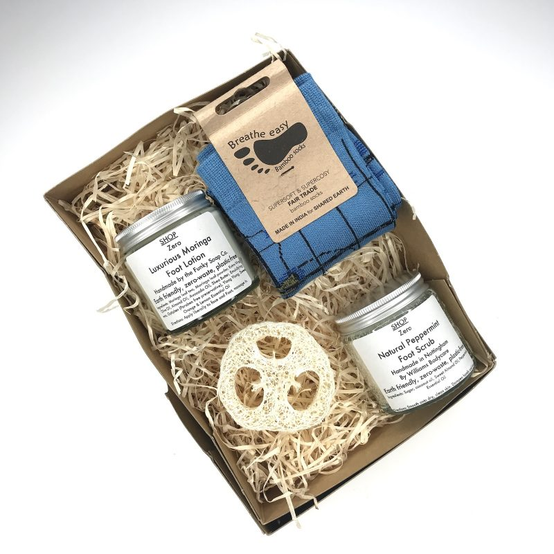 Product image for Happy Feet zero waste gift box