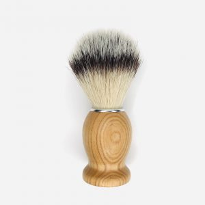 Product image of an Ash wood handle shaving brush