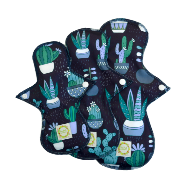 Product image of a cloth sanitary pad by Eco Rainbow